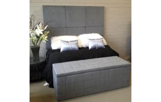 The Block Queen Size Bed Head