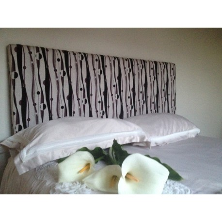 Upholsted Bedhead Queen Size Lunar Coffee Plumindustries