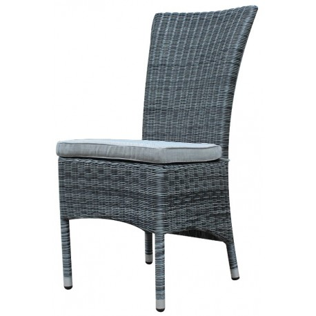 Canberra high back outdoor dining chair grey plumindustries for Outdoor furniture canberra