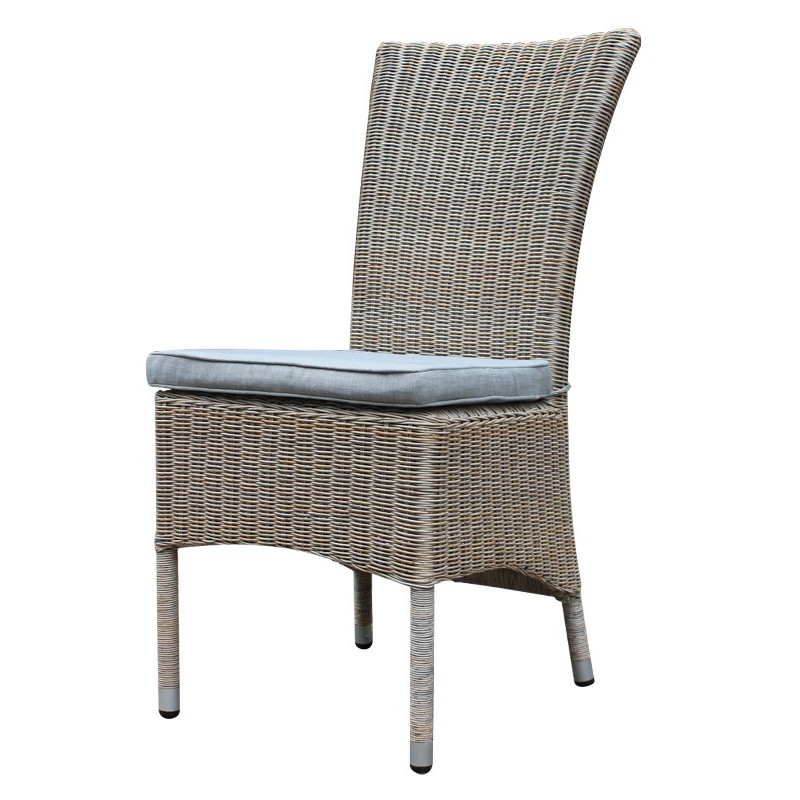 Canberra high back outdoor dining chair plumindustries for High chair dining set