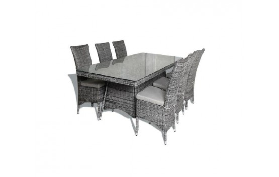 Canberra High back Dining Set