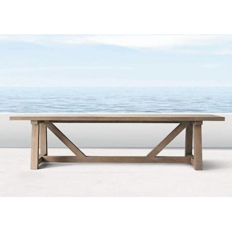 Portsea Trestle Table Teak