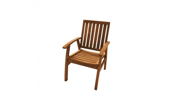 Flinders Teak Arm Chair