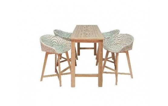 The Venice Teak Bar set