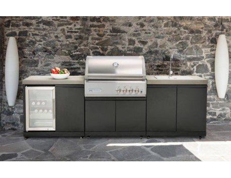 CrossRay 4 Burner Outdoor Kitchen