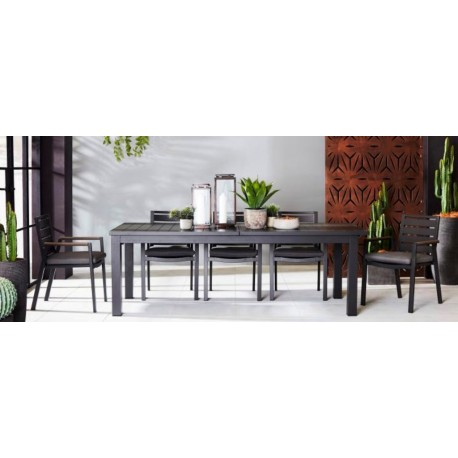 The 12 seater Gravity Extension Dining Set