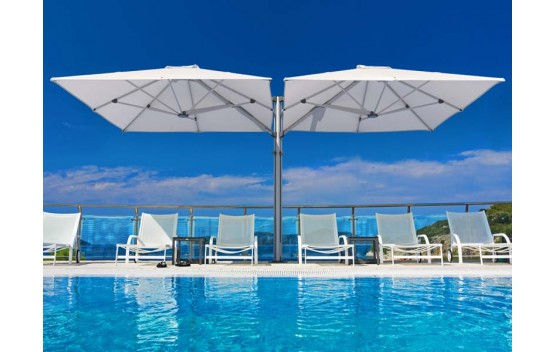 SU6 Multi Mast Cantilever Umbrella