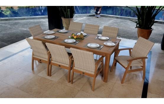 Flinders Montego Teak Dining set