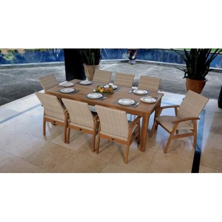 Flinders Montego 7 pce Teak Dining set