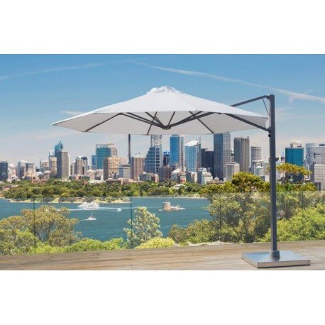 Outdoor cantilever Umbrella 3.5 Meter Octogon